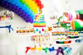 Rainbow Themed Birthday Favors by Kara S Ideas Rainbow Birthday Via Kara S Ideas