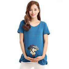maternity tops t shirt pregnancy t shirts cute baby printed for