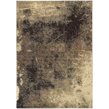 Brown And Beige Area Rug Shag Area Rugs Rugs The Home Depot