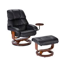 southern enterprises high back leather recliner and ottoman review
