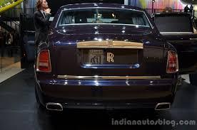 rolls royce phantom rear rear of the rolls royce phantom celestial edition indian autos blog