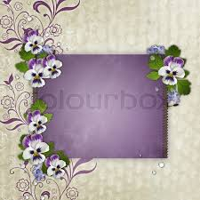 template for birthday or s day greetings card stock photo