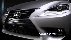 lexus drivers owners site lexus is bold new design youtube
