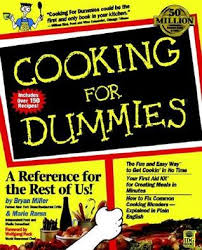 cooking for dummies by bryan miller