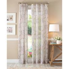 Shower Curtain At Walmart - better homes and gardens floral blossom curtain panel ivory