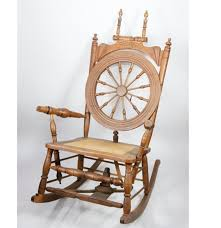 Rocking Chair Png 19th Century Spinning Wheel Rocking Chair Ebth