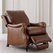 White Leather Recliner Chair Living Room Interesting And Cozy Leather Recliners For Modern