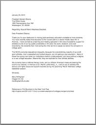 sample letters president obama letter for contract renewal