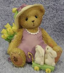 fuzzy easter 66 best i cherished teddies easter images on