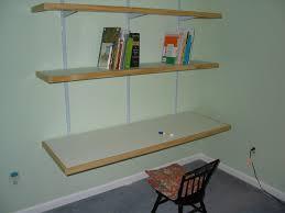 desk and bookshelves diy bookshelves