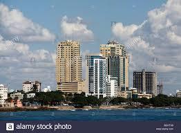 Modern Buildings Modern Buildings Along The Shoreline Santo Domingo Dominican