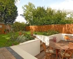 Sunken Patio Garden Patio Decking Landscaped Terrazo Sunken Area Idea Lentine