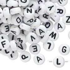 alphabet letters numbers and symbols fire mountain gems and beads