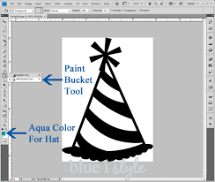 entertaining with style tutorial for creating the party hat