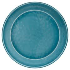 melamine dinner plates teal set of 4 threshold target