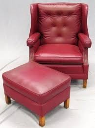 Red Armchair Red Leather Armchairs Foter