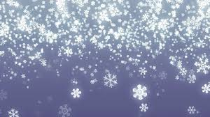 falling snowflakes background loop for winter holidays