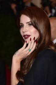 my pointy and impractical lana del rey nails are ruining my life