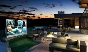 interior ideas for outdoor cinema inmyinterior and exterior