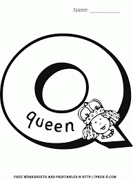 Letter Q Coloring Pages Many Interesting Cliparts Coloring Pages Q
