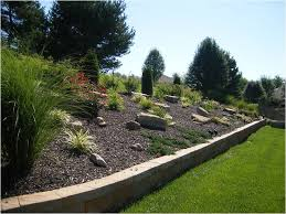 Landscaping Ideas For Slopes Landscape Ideas For Hillside Winkler U0027s Lawn Care U0026 Landscape