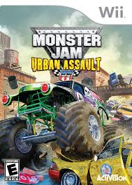 monster truck jam games play free online monster jam urban assault ign