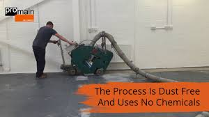 how to prepare cement floors for epoxy coatings youtube