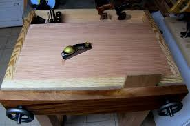 Woodworking Shop Bench Height by Joinery Bench Completed The Renaissance Woodworker