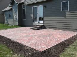 Paver Patio Paver Patio Border Ideas For Your Front Yard Calladoc Us