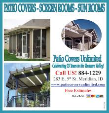 e unlimited home design decor of patio covers unlimited ad flyer for patio covers unlimited