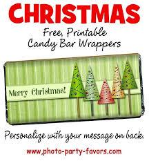 christmas candy bar wrapper template best template idea