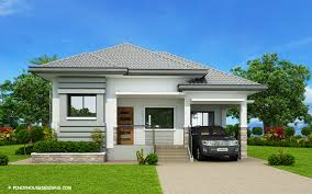 what is a bungalow house plan gorgeous 3 bedroom modern bungalow house plan myhomemyzone