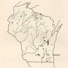 Wisconsin Lakes Map by File Fmib 42308 Sketch Map Of Wisconsin Showing Lake Districts