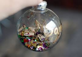 glass ornament ideas happy holidays