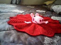 Baby Blanket Comforter Peppa Pig Security Blanket A Baby Blanket Comforter Yarncraft