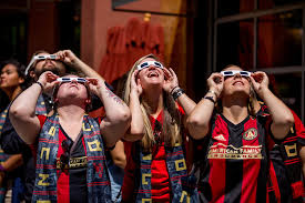 delta atlanta united paint the town in celebration of new