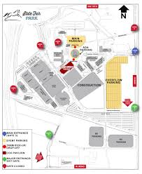 Tcu Parking Map Inaugural Sooner Sports Experience August 4 The Official Site Of