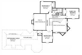 Expandable Floor Plans Brunswick Manor 8386 5 Bedrooms And 3 5 Baths The House Designers