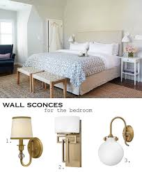 bedroom wall sconces how to choose bedroom lighting