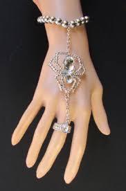 women hand bracelet images Silver women hand chain spider gold halloween bracelet tradesy jpg