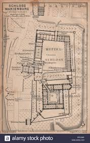 zamek w malborku ordensburg marienburg malbork castle plan