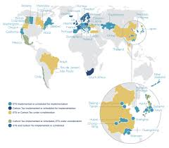 Estonia On The World Map by Who Is Using It U2014 Carbon Pricing Leadership