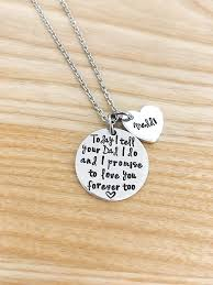 wedding gift necklace stepdaughter necklace stepdaughter wedding gift gift from