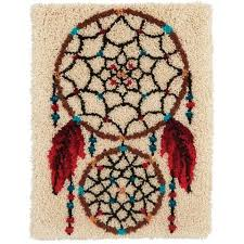Vervaco Latch Hook Rug Kits Craftways Catching Dreams Latch Hook