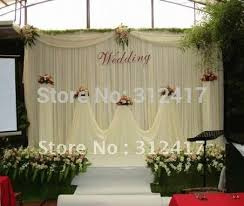 wedding backdrop reception wholesale and retail cheap white wedding backdrop curtain with