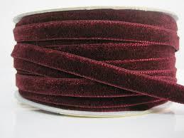 burgundy velvet ribbon 5 yards 3 8 burgundy velvet ribbon velvet ribbon
