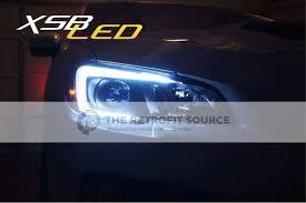 subaru forester headlights pivot switchback led c light drls for headlights 15 wrx 15 17 sti