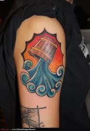 unique aquarius tattoo designs