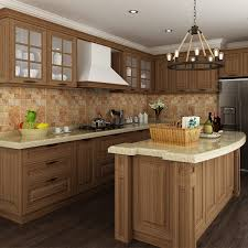 mauritius project pp finished door modular household kitchen