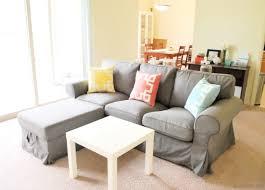 Ektorp Sofa With Chaise Little U0026 Big Apartment Updates U2022 Label Me Merrit